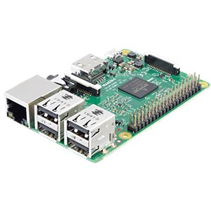 Raspberry Pi 3, 4x 1,2 GHz, 1 GB RAM, WLAN, BT RASPBERRY PI RASPBERRY PI 3 B