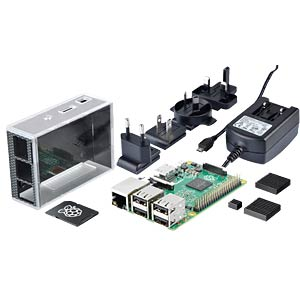 The Reichelt Raspberry Pi 3 B all-in bundle REICHELT RASP 3 B ALL IN BUNDLE