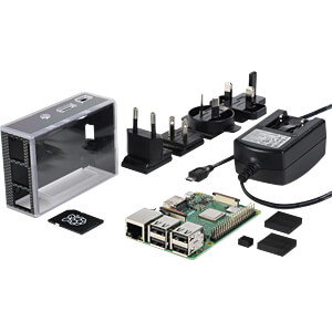 Das reichelt Raspberry PI 3 B+ All-In-Bundle REICHELT RASPBERRY PI 3 B+ ALL IN
