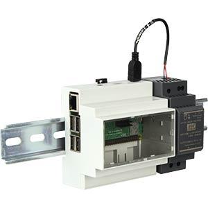 RASP 3 BDL DIN - Raspberry Pi 3 B+ inkl. Hutschienen-Gehäuse & Zubehör