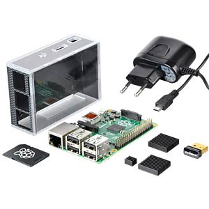 Das reichelt Raspberry PI B+ All-In-Bundle REICHELT RASP B+ ALL IN BUNDLE