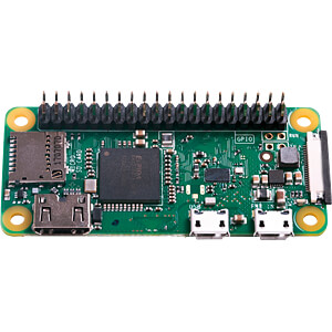 Raspberry Pi Zero WH v.1.1, 1 GHz, 512 MB RAM, WLAN, BT RASPBERRY PI RASPBERRY PI ZERO WH