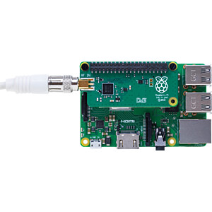 Raspberry Pi - TV-Shield DVB-T2 voor Raspberry Pi RASPBERRY PI RASPBERRY PI TV-UHAT