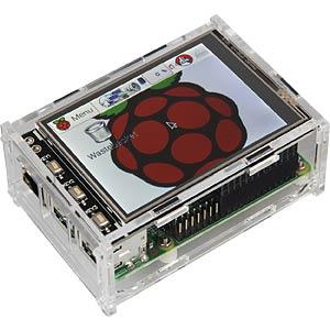 Gehäuse für Raspberry Pi 3 & 3,2/3,5 Touch-Display JOY-IT JT-TFT3-CASE