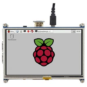 Raspberry Pi Shield - Display LCD-Touch, 5, 800x480 Pixel JOY-IT RB-LCD-5