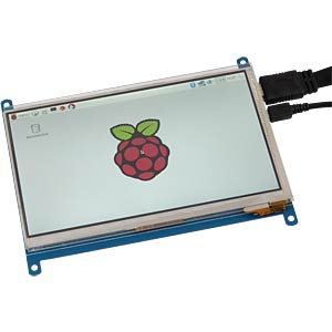 Entwicklerboards - Display LCD-Touch, 7, HDMI JOY-IT RB-LCD-7-2