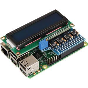 Raspberry Pi - Display LCD, 16x2, blau/weiß + 4 Buttons JOY-IT RB-LCD16X2
