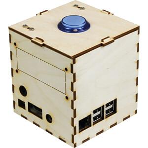 Raspberry Pi Gehäuse für Talking Pi, Holz-optik JOY-IT RB-TALKINGPI-CASE1-SET