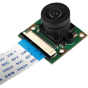 Raspberry Pi HD wide-angle camera, 5 MP 1080 p JOY-IT RB-CAMERA-WW