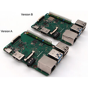 Rock Pi 4 Model B, 6x 1,4/1,8 GHz, 4 GB DDR4, WL, BT RADXA ROCKPI4_4GB_BVER
