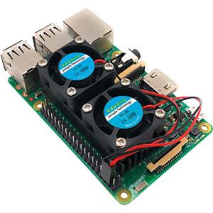 Raspberry Pi - Lüfter, dual SERTRONICS RPI-DFAN