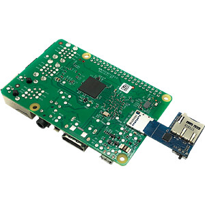 Raspberry Pi - microSD-Adapter, dual FREI