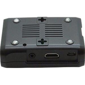 Gehäuse für Raspberry Pi 3, mit 30 mm Lüfter, schwarz SERTRONICS RPI-FCASE-S