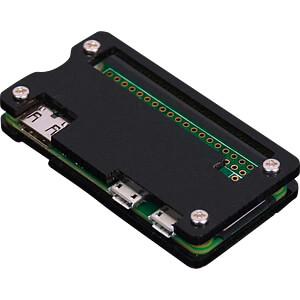 Gehäuse für Raspberry Pi Zero, schwarz SERTRONICS RPIZ-CASE-BL