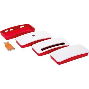 Gehäuse für Raspberry Pi Zero, rot/weiß RASPBERRY PI SC0038