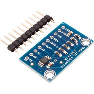 Raspberry Pi - Analog/Digital Converter, 4 Channel, 16 Bit FREI