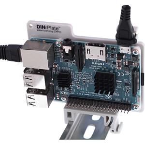 Raspberry Pi - Hutschienenhalterung, grau FREI DRP2-GR