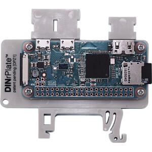 Raspberry Pi - Hutschienenhalterung für Zero, grau FREI DPZ1-GR