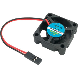 Raspberry Pi - Lüfter 30x30x10 mm für NESPI und SNESPI-Gehäuse SERTRONICS 5L303010D