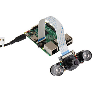 Raspberry Pi - caméra 5MP IR, 1080p JOY-IT RB-CAMERA-IR-PRO