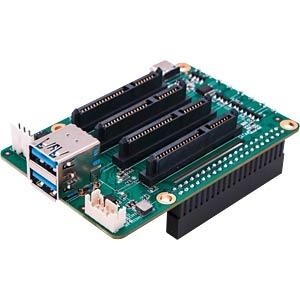 Raspberry Pi Shield - Quad-NAS, 4x SATA RADXA RP_SATA4XHV1.2