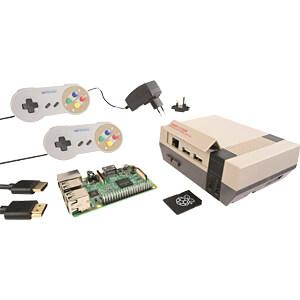 De Raspberry PI 3 B+ set in NES-design REICHELT RPI NESPI BDL 2