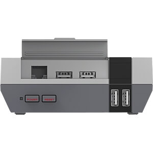 Case for Raspberry Pi 3, NES Design, gray SERTRONICS NESPI