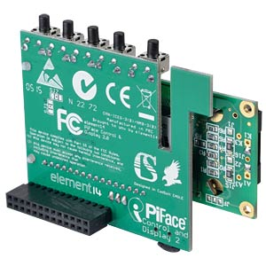 Raspberry Pi Shield - Piface Control und Display 2 PIFACE PIFACE CONTROL & DISPLAY 2