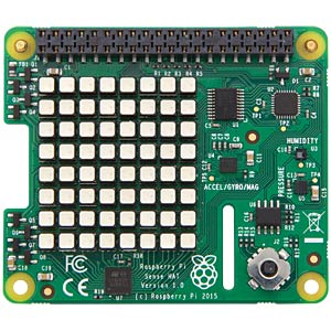 Raspberry Pi Sense HAT, 40-pin shield RASPBERRY PI RASPBERRYPI-SENSEHAT