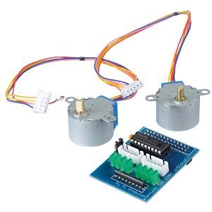 Raspberry Pi motor controller incl. stepper motors LBL RB-MOTO2