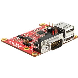 Raspberry Pi converter, USB to USB + RS232 DELOCK 62649