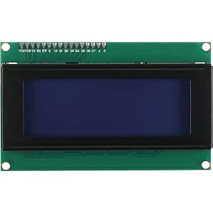 Entwicklerboards - Display, 20 x 4 Zeichen, blau JOY-IT SBC-LCD20X4