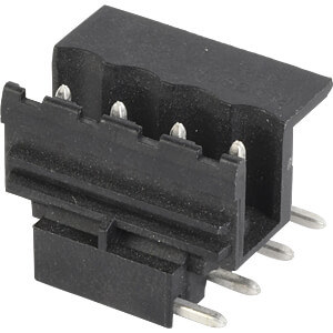 socket board, solderable, 4-pole, RM 5,00 RIA CONNECT 3133710457