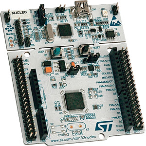 Nucleo-64, ARM Cortex, STM32 L4-Serie ST MICROELECTRONICS NUCLEO-L476RG