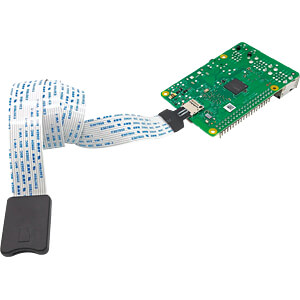 Raspberry Pi - MicroSD-Verlängerung, flexibel, 50cm SERTRONICS TFEXT-50