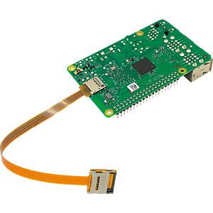 Raspberry Pi - MicroSD-Verlängerung, ultraflexibel, 16cm SERTRONICS TFEXT-UF-16