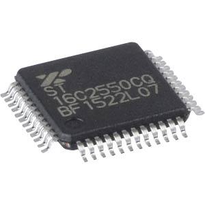 UART, 2CH, 16byte, RS-232/485, TQFP-40 EXAR ST16C2550CQ48-F