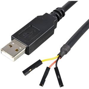 USB zu TTL serieller UART-Wandler, Länge 1,0m FTDI TTL-232R-RPI