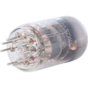 Elektronenröhre, Doppel Triode, Noval, 9-pol, 6,3 V, 0,3 A FREI 12 AX 7 WA / ECC 83