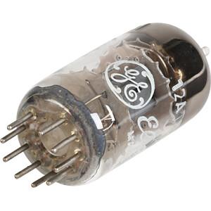 Elektronenröhre, Doppel Triode, Noval, 9-pol, 6,3 V, 0,3 A GENERAL ELECTRIC E81CC / ECC801S / 6201 / 12AT7