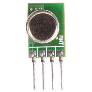 433 MHz Sendemodul, 3 ... 12 V, 10 mW, 100 kbps VELLEMAN