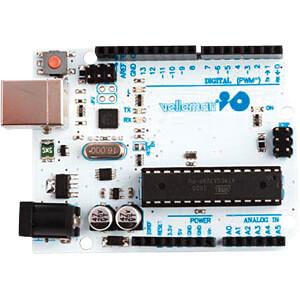 Arduino kompatibles Uno Rev.3 Board, DIP-Variante, ATmega328, US VELLEMAN VMA100