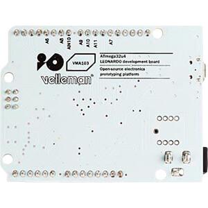 Arduino kompatibles Leonardo Board, ATmega 32u4, USB VELLEMAN VMA103