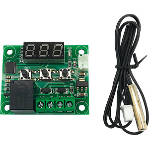 Entwicklerboards - Thermostat, 12 V, digital FREI XH-W1209