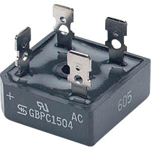 Brückengleichrichter, 1000 V, 35 A TAIWAN-SEMICONDUCTORS GBPC3510