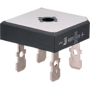 Bridge rectifier 1000V 25A QUAD-28.6 Fas DIOTEC KBPC10/15/2510FP