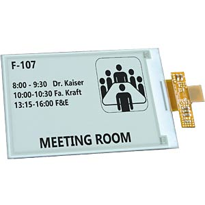 "ePaper display 10,9 cm (4,3""), 800 x 600 dots ELECTRONIC ASSEMBLY EA EPA43-A"