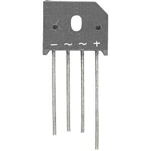 Bridge rectifier 280VAC 8A 400V FREI KBU804 = KBU8G