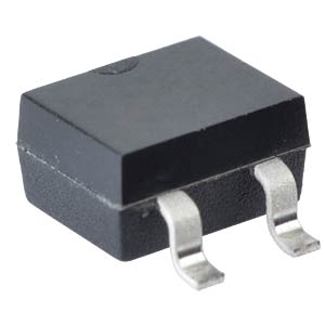 SMD bridge rectifier, 0.5 A, 140 V (RMS), 0.8 A TAIWAN-SEMICONDUCTORS RMB4S