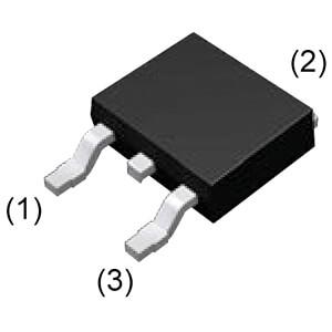 SMD-SiC-Schottkydiode 650V, 10A, D²Pak ROHM SCS210AJTLL
